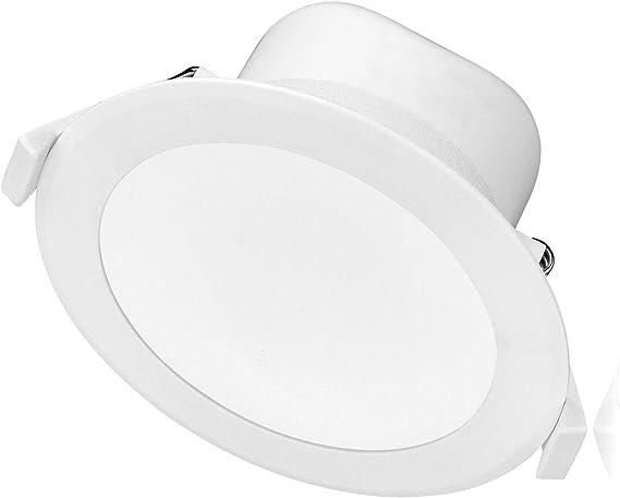 LED Strahler dimmbar ( Weiss ) 10W 230V IP44 warmkalt