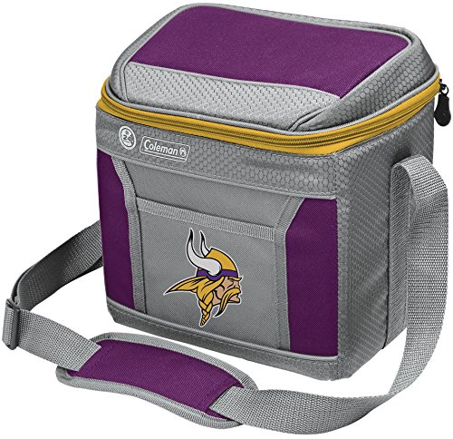 Gear Vikings Minnesota (NFL Soft-Sided Insulated Cooler Bag, 9-Can Capacity with Ice)