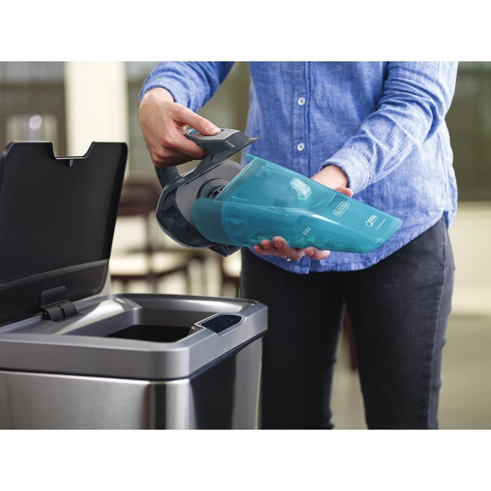 BLACK+DECKER HLWVA325J21 Lithium Wet/Dry Hand Vacuum, 8 oz. , Titanium by BLACK+DECKER (Image #6)