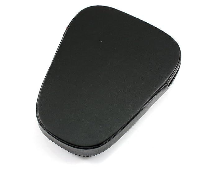 NEVERLAND Passenger Sissy Bar Backrest Cushion Pad Fits Sportster Bobber Universal Black