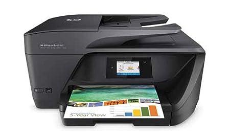 HP OfficeJet Pro 6950 - Impresora Multifunción (Tinta Color, Fax, Copiar, Escanear, Impresión a Doble Cara, 4800 x 1200 PPP, Incluido 2 Meses de HP ...