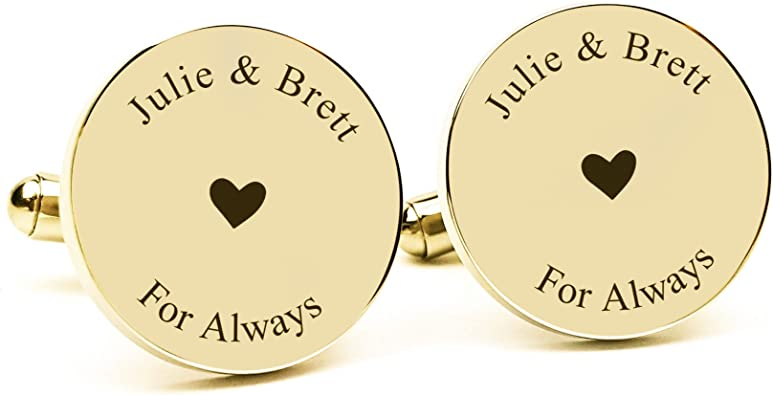 Personalized 925 Sterling Silver Wedding Cufflinks Men Custom Made Any Initials,Groomsman Gift