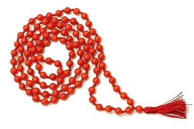 IndianStore4All Natural Coral Rosary Mala (Moonga Ki Mala
