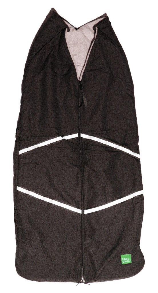 Baby Parka Stroller Winter Cover, Black