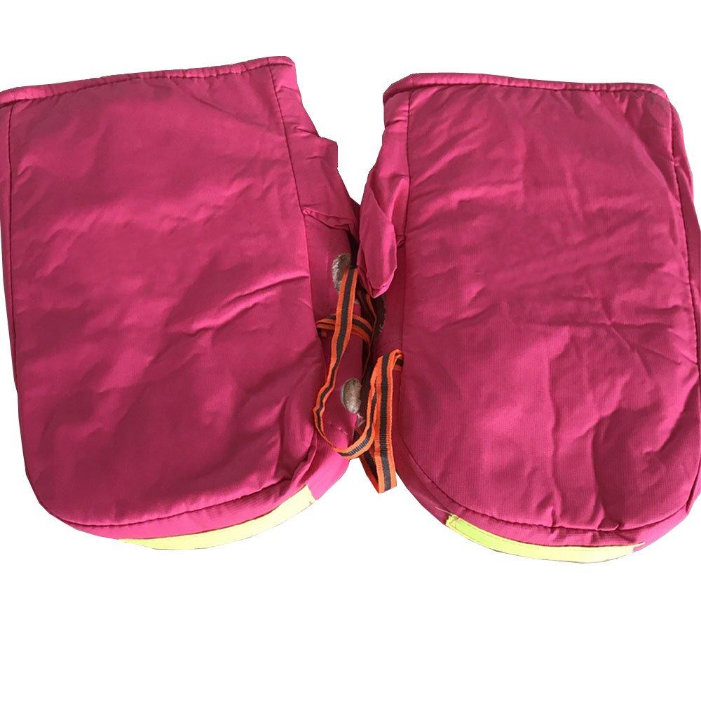 Mintice moto v/élo hiver gants chauds guidon bar manchons