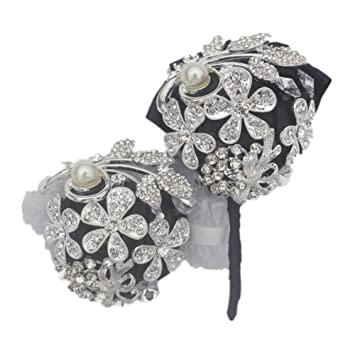 Amazon.com: Broche de Lee con diamantes de imitación de moda ...