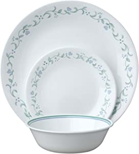 Corelle Livingware Country Cottage 18-Piece Dinnerware Set, Service for 6