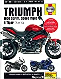 H4796 Triumph 1050 Sprint ST Speed Triple Tiger 2005-2013 Haynes Motorcycle Service Manual