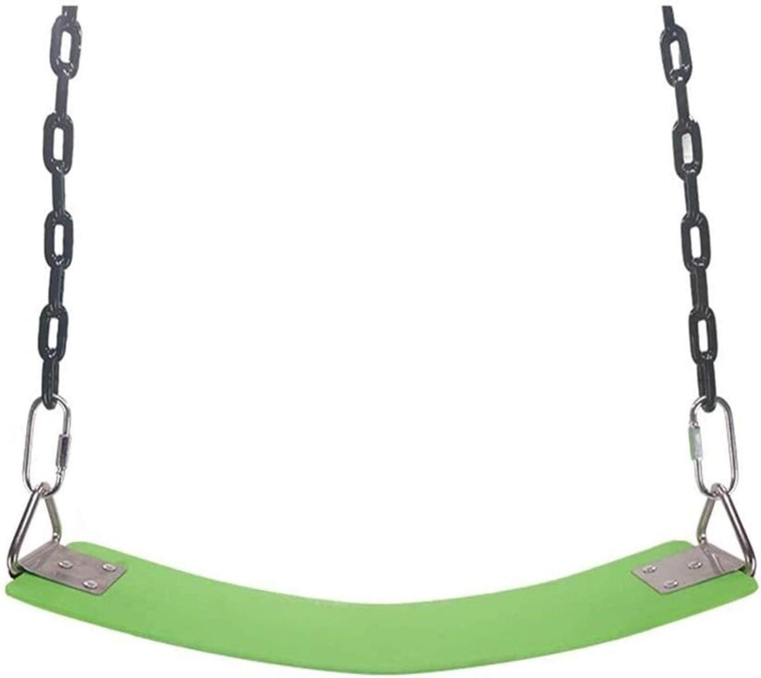 WERTYG Caballo de los niños del jardín, Acampada Swing Asiento EVA Plato de oscilación Suave con Accesorios al Aire Libre for jardín del Patio (Azul, Tamaño: 63.5x15cm)