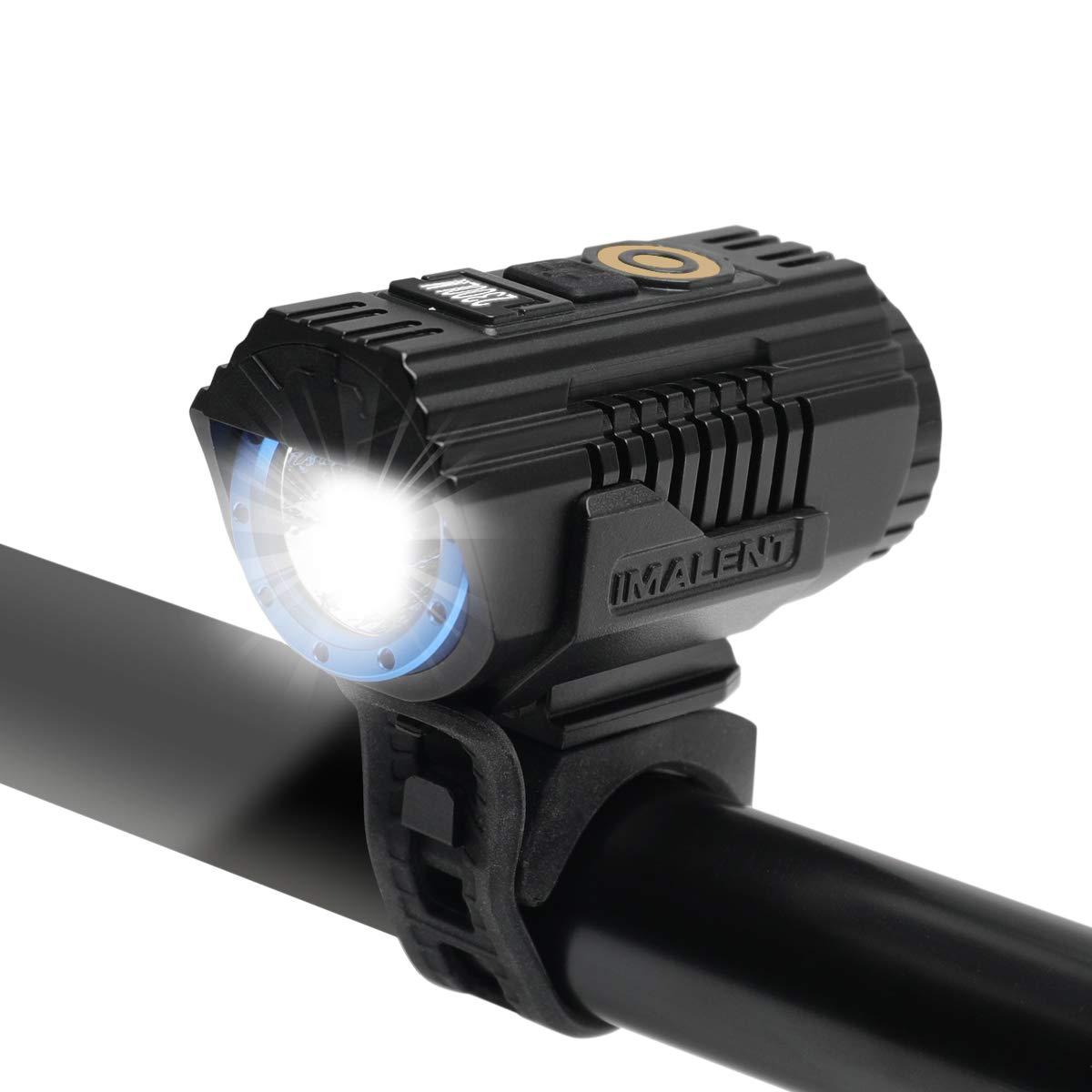 IMALENT BG10 2300 Lumens USB Magnetic Rechargeable Bike Light CREE XHP50 2nd Generation Durable IPX-8 Waterproof Cycling Flashlight