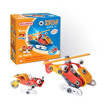 Amazon Com Take Apart Build Toys Baisiqi 2 Models Transform Simple