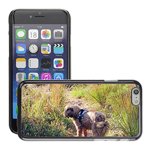 Just Phone Cover Hard plastica indietro Case Custodie Cover pelle protettiva Per // M00140232 Pet Dog herbe nature Graminées Meadow // Apple iPhone 6 6S 6G PLUS 5.5""