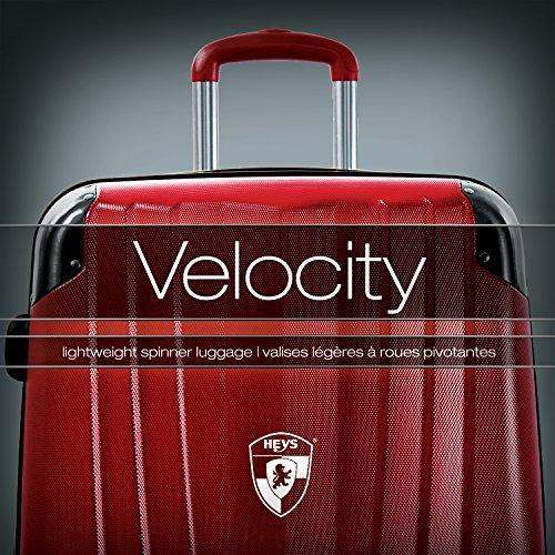 Heys - Core Velocity Grau Trolley mit 4 Rollen Klein