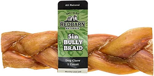 Redbarn 5 Braided Bully Stick 60-Count