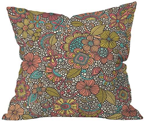 Cheap  Deny Designs Valentina Ramos Garden Doodles Throw Pillow, 16 x 16