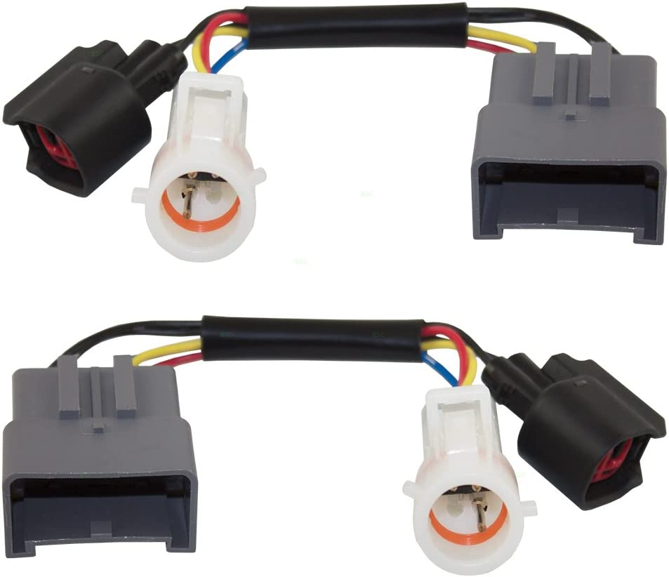 [ZTBE_9966]  Amazon.com: Tow Mirror Upgrade Adapters Harness Connectors w/Power Heat Set  Replacements for Ford Excursion Super Duty Pickup Truck 1C3Z 14A411 AA:  Automotive   Ford Power Mirror Switch Wiring      Amazon.com