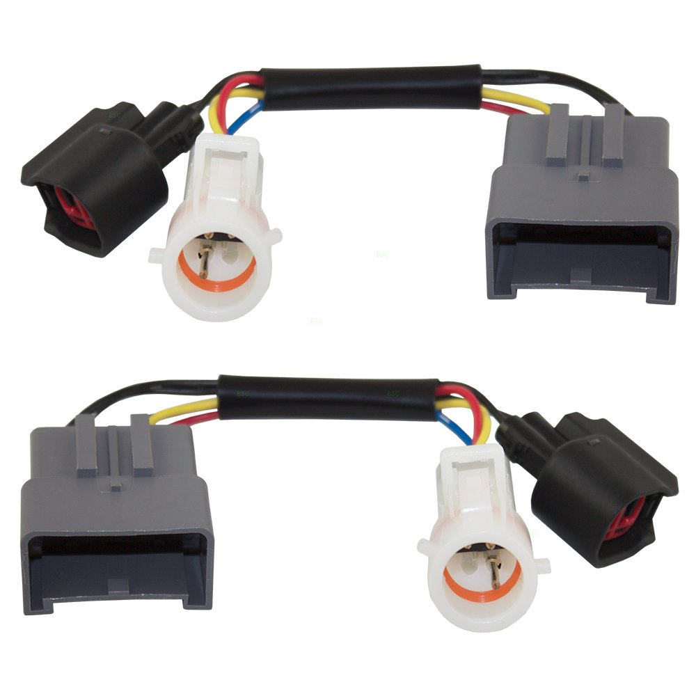 Set Tow Mirror Upgrade Adapters Harness Connectors W Ford Excursion Wiring Power Heat Replacement For Super Duty Pickup Truck 1c3z 14a411 Aa