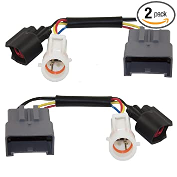 Tow Mirror Upgrade Adapters Harness Connectors w/Power Heat Set Replacements on