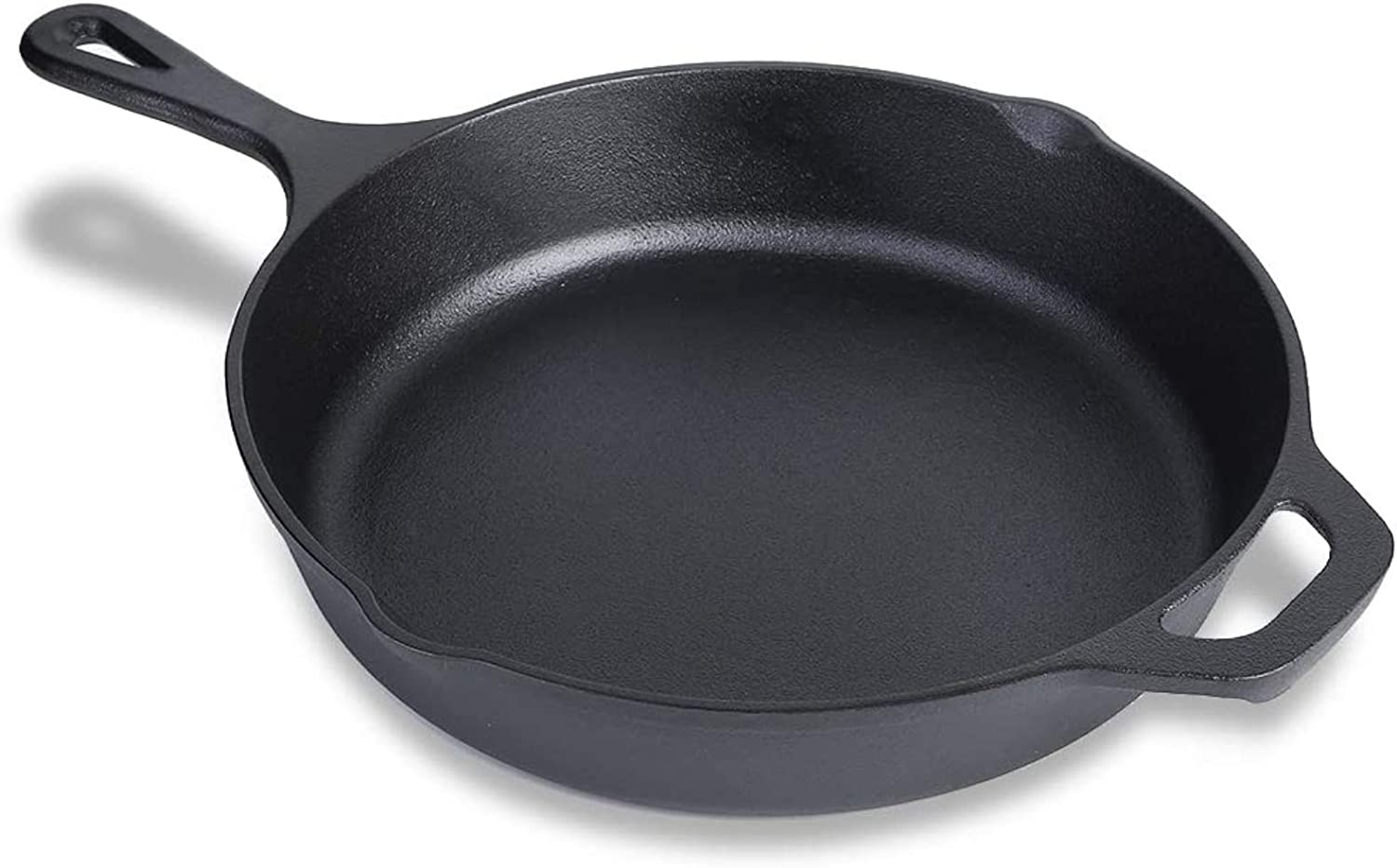 Cast Iron Skillet, Pre-Seasoned Non-Stick Like Surface for Cookware Oven, Grill Safe, Kitchen Deep Fryer, Restaurant Chef Quality (10inch)