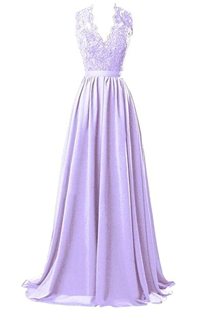 Marsen Vestidos Para Mujer Vintage Coctel V Cuello Fiesta Para Bodas Largos De Noche Ceremonia
