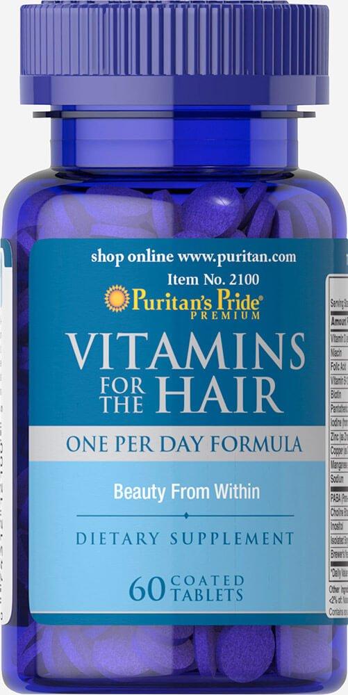 Vitaminas para el Cabello 60 tabletas. Puritans Pride 1 und.: Amazon.es: Salud y cuidado personal