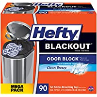 Hefty BlackOut Tall Kitchen Trash Bags