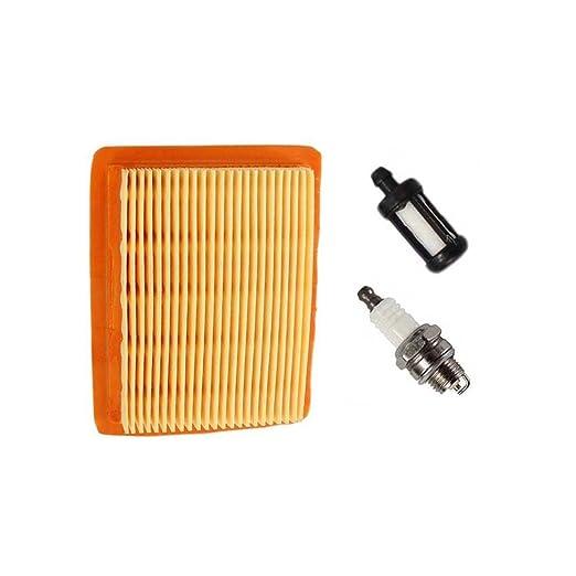 Aisen Kit de Filtro de Aire Filtro de Combustible para bujías para ...