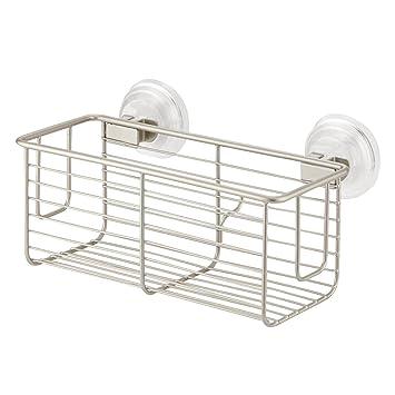 Interdesign Power Lock Suction Shower Storage Basket