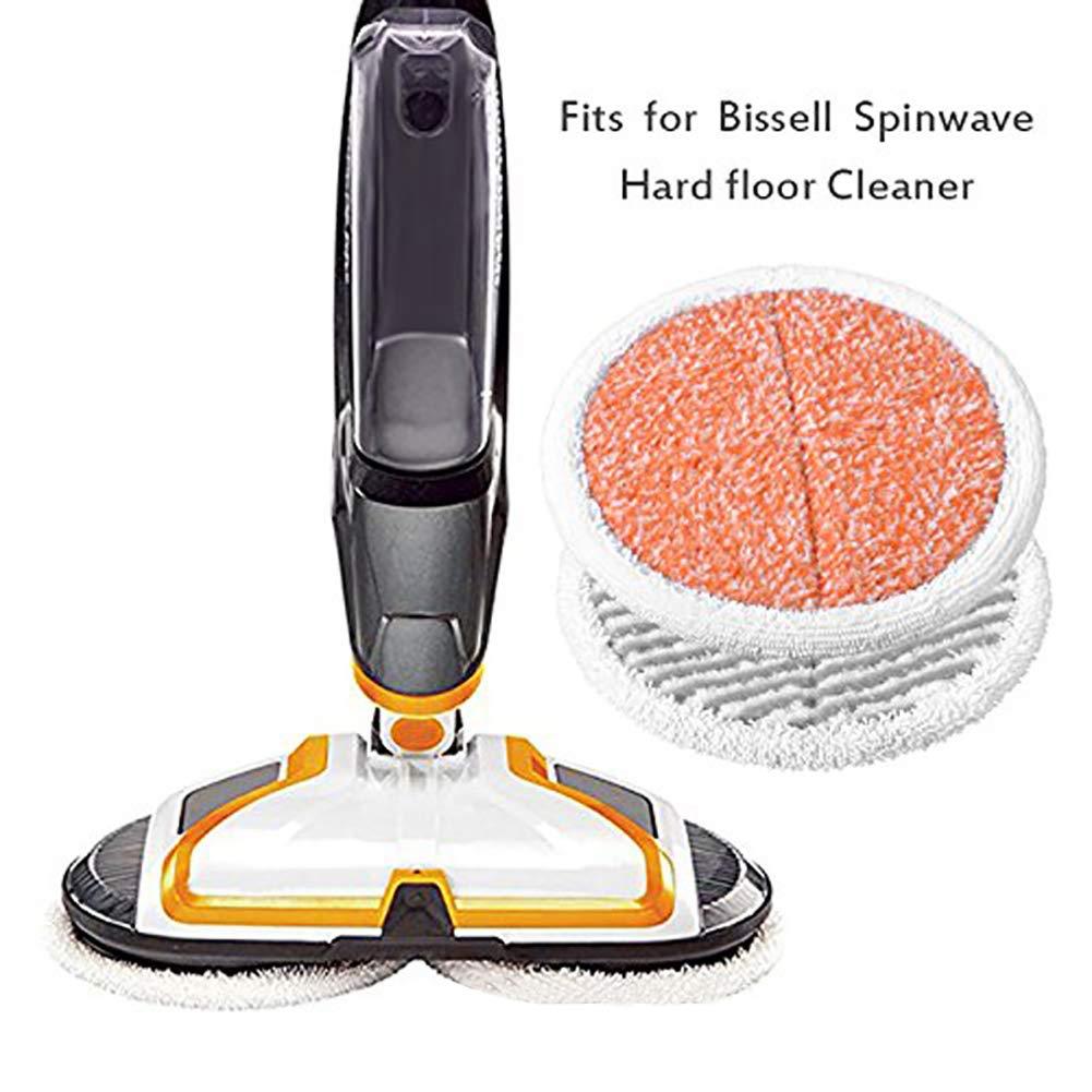 2037 Series Powered Hard Floor Mop Onetek Mop Pads di ricambio per Bissell Spinwave 2124 2039