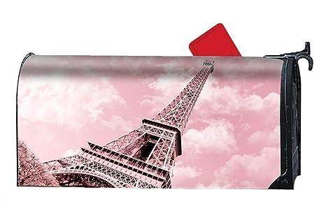 8ae3ba9c1e44 Amazon.com  Verna Christopher Pink Eiffel Tower Custom Mailbox ...