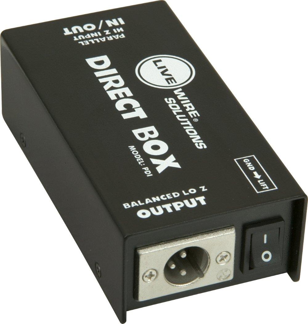 Livewire PDI Double Shielded Heavy Duty Passive Direct Box by Live Wire