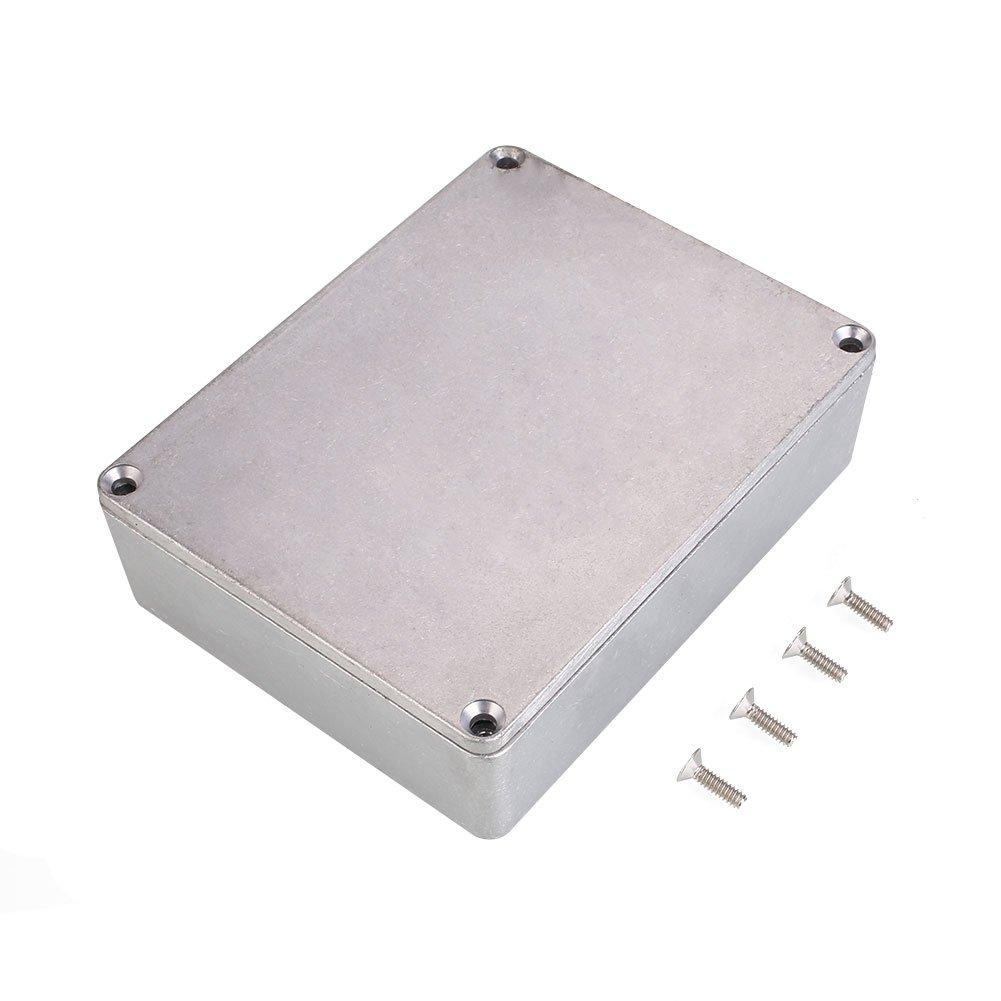 Forfar 1590BB Aluminiummetall Stomp Box Fall-Gehäuse Gitarren-Effekt-Pedal GMMH10966