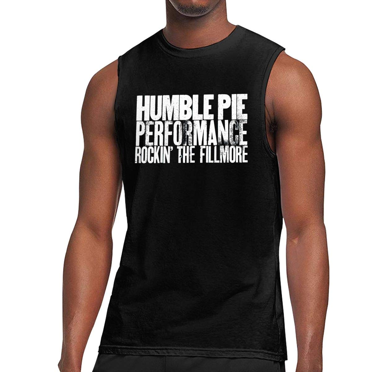 Humble Pie T Shirts Sleeveless Round Neck Tank Top T Shirt 5852