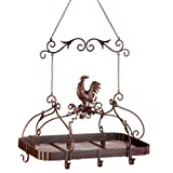 Malibu Creations 12657 Country Rooster Kitchen Rack