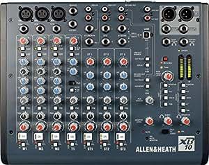 Mezclas y producción Allen & Heath batidora 3in Mono 1Telco 3Stereo digitales