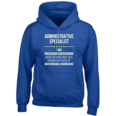 This Gift Rocks ! Administrative Specialist I Do Precision Guesswork Gift - Boy Boys Hoodie