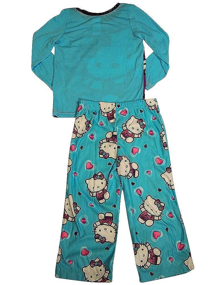 Big Girls Long Sleeve Hello Kitty Pajamas Hello Kitty
