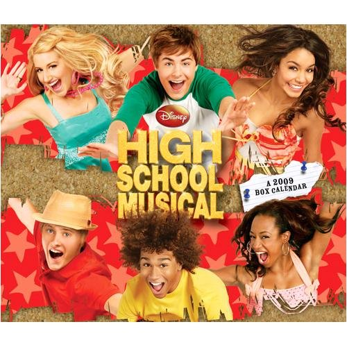 High School Musical 2009 Box Desk Calendar
