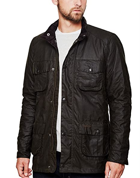 Barbour Corbridge Chaqueta Verde Verde Oliva L: Amazon.es ...