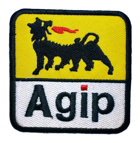 agip-oil-company-petroleum-f1-symbol-clothing-ga02-patches-by-oil-patch
