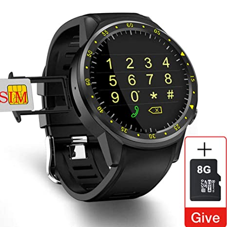 ZXCVBW Reloj Inteligente Hombres Tarjeta SIM Deportes ...