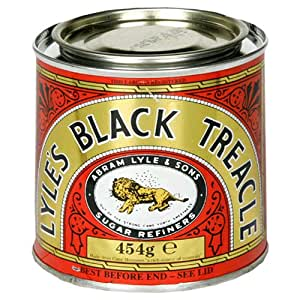 Lyle's Black Treacle, 16-Ounce Containers (Pack of 6)