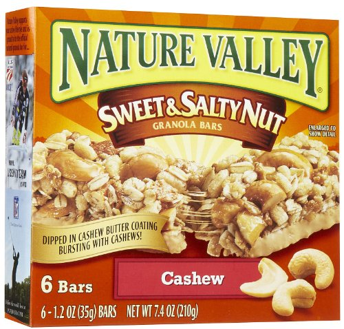 Nature Valley Sweet & Salty Nut Cashew Granola Bars 7.4 oz