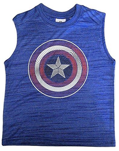 Boys Sleeveless Muscle Tank T shirt product image