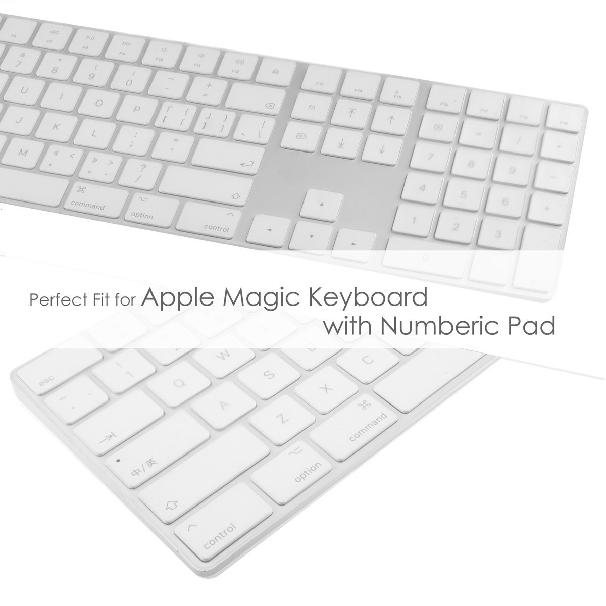 Amazon.com: TOP CASE - Ultra Thin Silicone Soft Keyboard Cover Skin ...