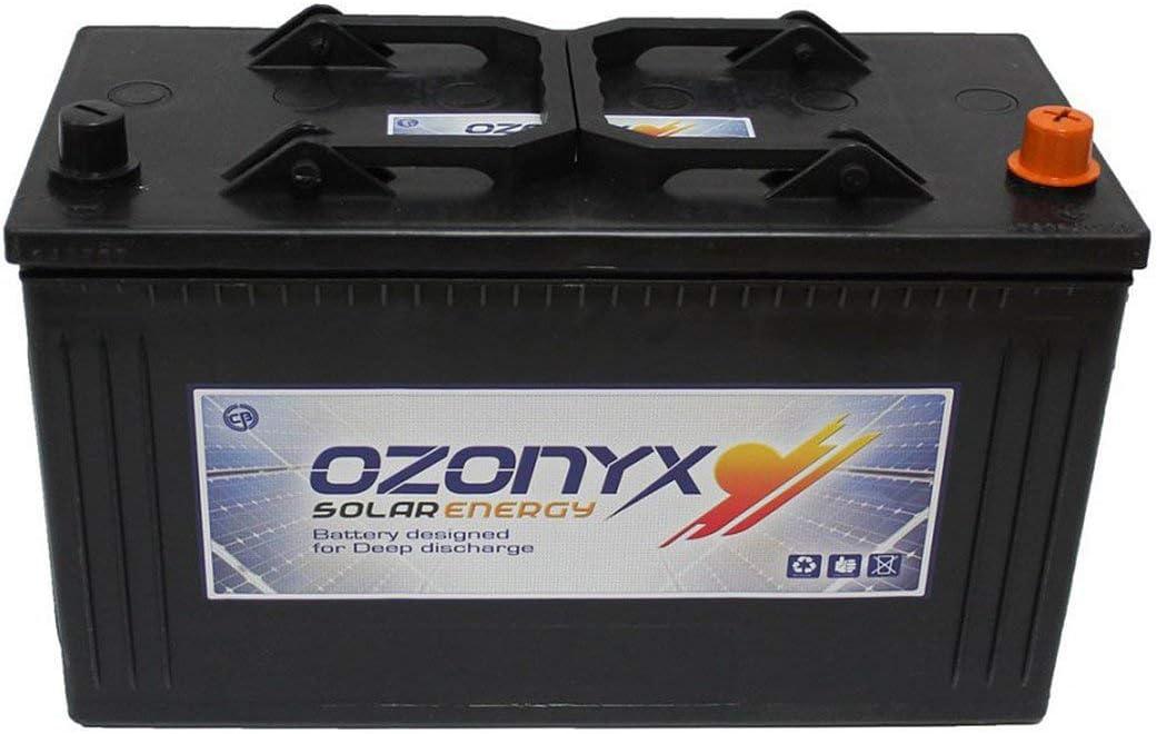 wccsolar.es Bateria Solar 125ah 12v Ozonyx bateria Solar de 12v