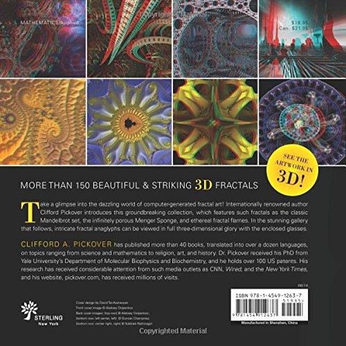 Fractal 3D Magic: Clifford A  Pickover: 9781454912637: Amazon com: Books