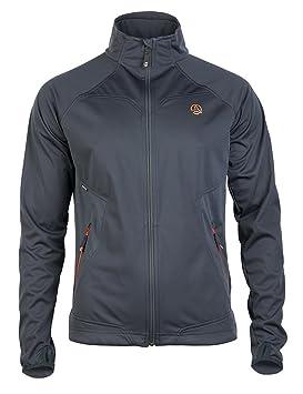 Men Ternua Holyrood al aire libre chaqueta/1642535-5775 de senderismo para hombre Chaqueta gris, color - gris, tamaño S: Amazon.es: Deportes y aire libre