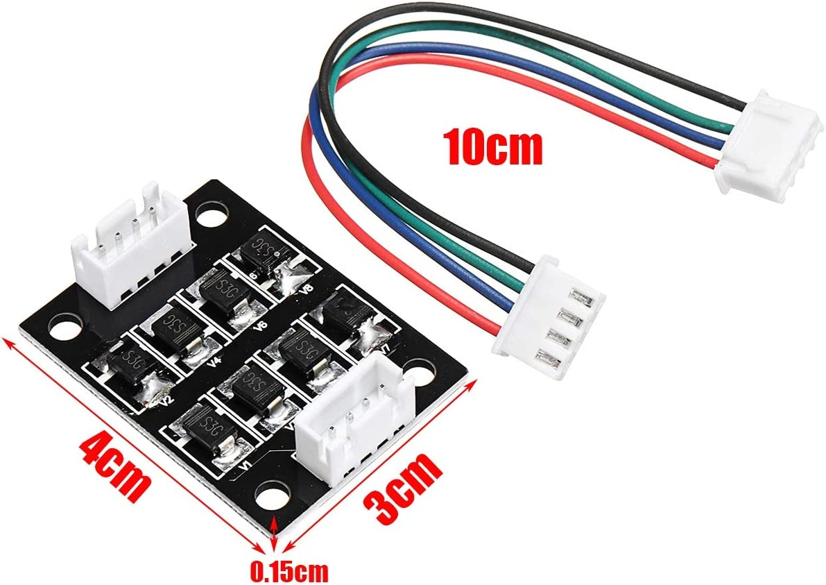 Nrthtri smt Stepper Motor 3PCS TL-Smoother Addon Module with Dupont Line for 3D Printer Smaller Size