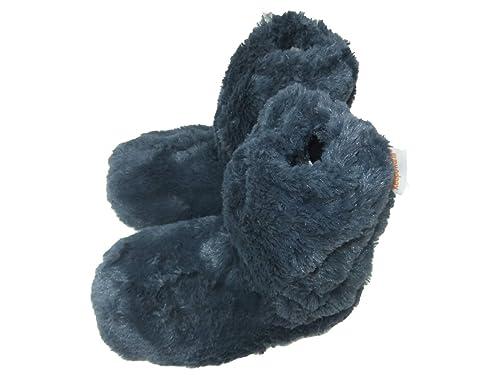 Zapatillas de pelo para mujer, se calientan en microondas, talla de la 37 a la 40,5: Amazon.es: Zapatos y complementos